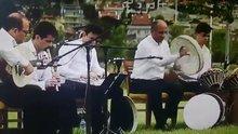 Gaza gelip bendir patlatan müzisyen
