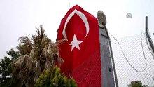 Saldırının olduğu jandarma karakoluna Türk Bayrağı asıldı