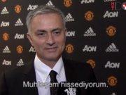 Mourinho Machester'da