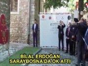 Bilal Erdoğan Saraybosna'da ok attı