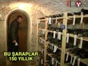 150 yıllık şarap mahzeni bulundu