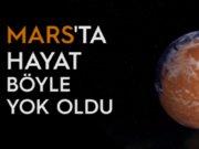 Mars'ta buz çağı bitiyor.