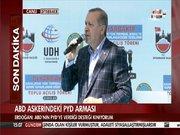 Cumhurbaşkanı Erdoğan Diyarbakır'da konuştu