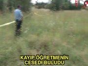 Tuzla'da kayıp öğretmenden kötü haber