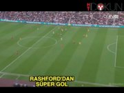 Marcus Rashford'dan mükemmel gol