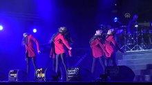 Amerikalı rap sanatçısı Pitbull konseri