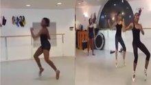 Hiplet dansçı kadınların gösterisi