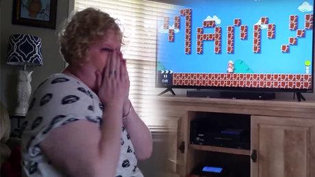 Super Mario ile evlilik teklifi!