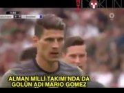 Mario Gomez şov milli takımda devam