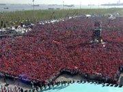 Cumhurbaşkanı Erdoğan, fetih şölenine katıldı