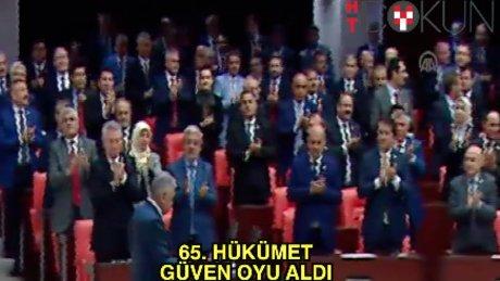 Yıldırım: '79 Milyonun Hükümetiyiz'