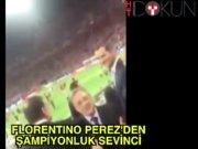 Florentino Perez'den şampiyonluk sevinci