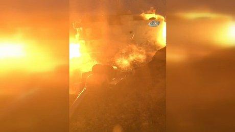 Nusaybin'de teröristlerin kurduğu patlayıcılar imha edildi