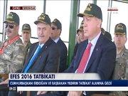 Cumhurbaşkanı Erdoğan Efes tatbikatını izleyecek