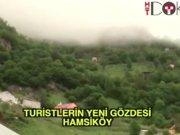 Turistlerin yeni gözdesi: Hamsiköy