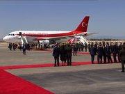 Başbakan Binali Yıldırım KKTC'de resmi törenle karşılandı