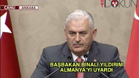 Başbakan Yıldırım KKTC ziyareti öncesi konuştu