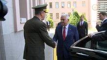 Başbakan yıldırım Gewnel Kurmay başkanını ziyaret etti