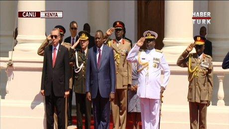 Cumhurbaşkanı Erdoğan Kenya'da