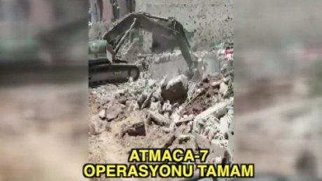 Nusaybin'de Atmaca-7 operasyonu tamamlandı