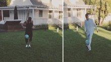 Neymar ile Justin Bieber top sektirdi