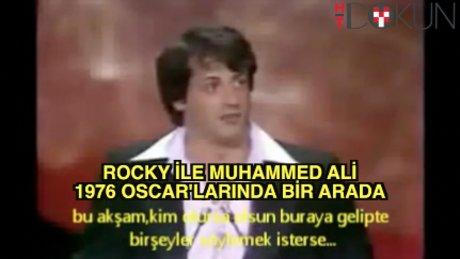 Muhammed Ali Sylvester Stallone ile