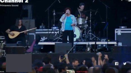 Selda Bağcan Primavera'da konser verdi