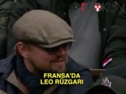 Roland Garros'ta DiCaprio rüzgarı