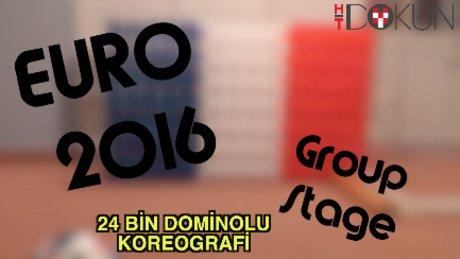 Euro 2016 için 24 bin domino