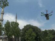 Vatandaşlar sahura 'drone'lu davul ile kalkacak