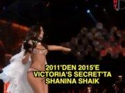 Shanina Shaik'in Victoria's Secret yürüyüşleri
