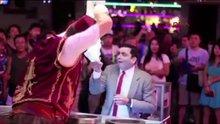 Türk dondurmacı 'Mr Bean'i şakaladı