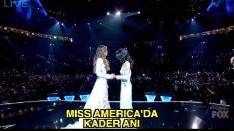 Kadın subay Miss Amerika seçildi