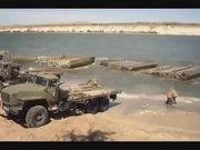 Rus ordusu dakikalar içinde köprü yaptı