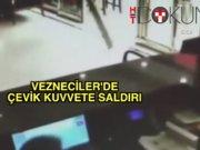 Vezneciler'de çevik kuvvete saldırı