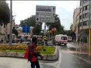 Vezneciler'de polise saldırı (olay yerinden ilk görüntüler)
