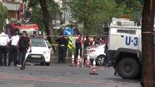 Vezneciler'de çevik kuvvet otobüsüne bombalı saldırı