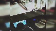 Vezneciler'deki patlama şiddeti kamerada
