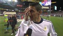 Di Maria'nın gözyaşlarını tutamadı