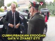 Erdoğan'dan GATA'da binbaşıya ziyaret