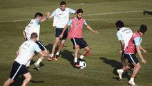 A Milli Takım, Hırvatistan maçı hazırlıklarını sürdürdü