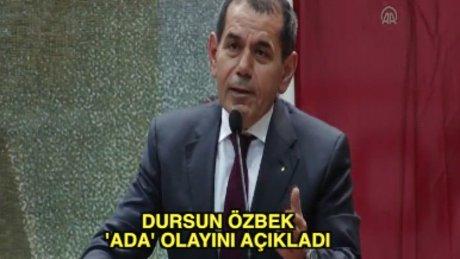 Dursun Özbek Divan'da konuştu