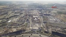 3. Havalimanı inşaatının havadan görüntüleri