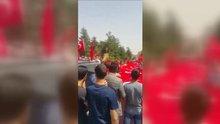 Mardin'de halk sokağa döküldü