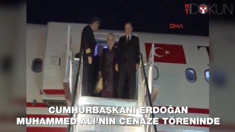 Cumhurbaşkanı Erdoğan Muhammed Ali'nin cenaze töreninde