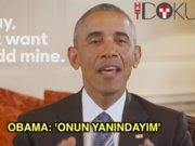Obama'dan Hillary Clinton'a: 'Yanındayım'