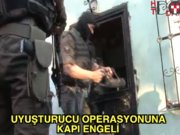 Gaziosmanpaşa'da operasyon: Kapıyı yarım saatte kırdılar