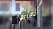 ABD havalimanında silah sesleri