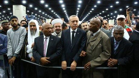 Erdoğan, Muhammed Ali'nin cenaze törenine katıldı