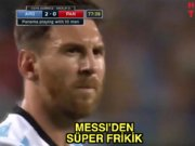 Messi'den süper frikik